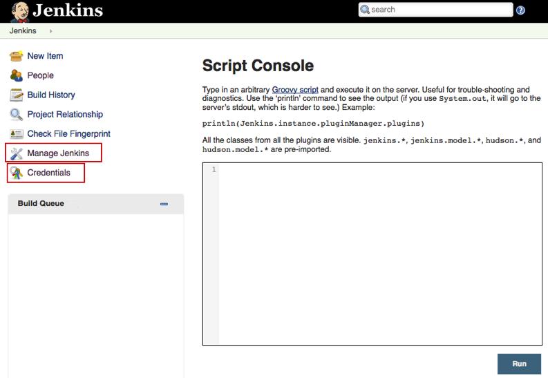 execute python script jenkins