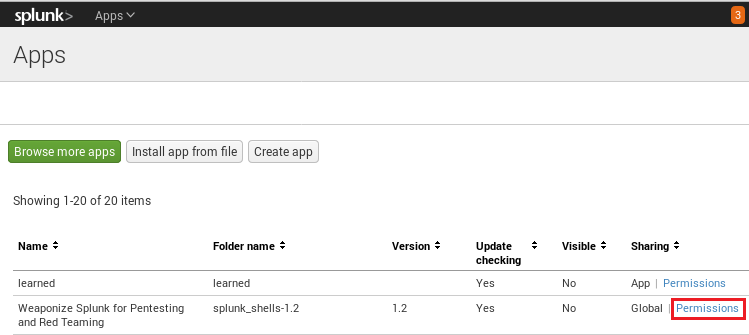 Popping shells on Splunk – n00py Blog